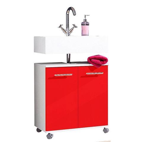 SCHILDMEYER kast Sellin rode badkamer wastafelonderkast 44