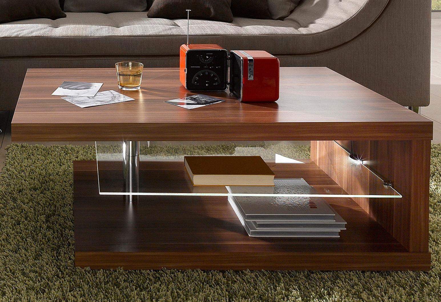 PRO Line salontafel met ledverlichting, op wielen nu online bestellen