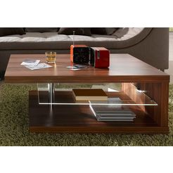 salontafel met lichtgewichtblad bruin