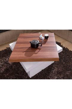 Salontafel met draaibaar tafelblad