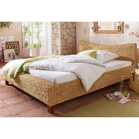 HOME AFFAIRE Bed met gebogen hoofdbord bruin Home Affaire 586350