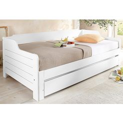 home affaire bed in landhuisstijl wit