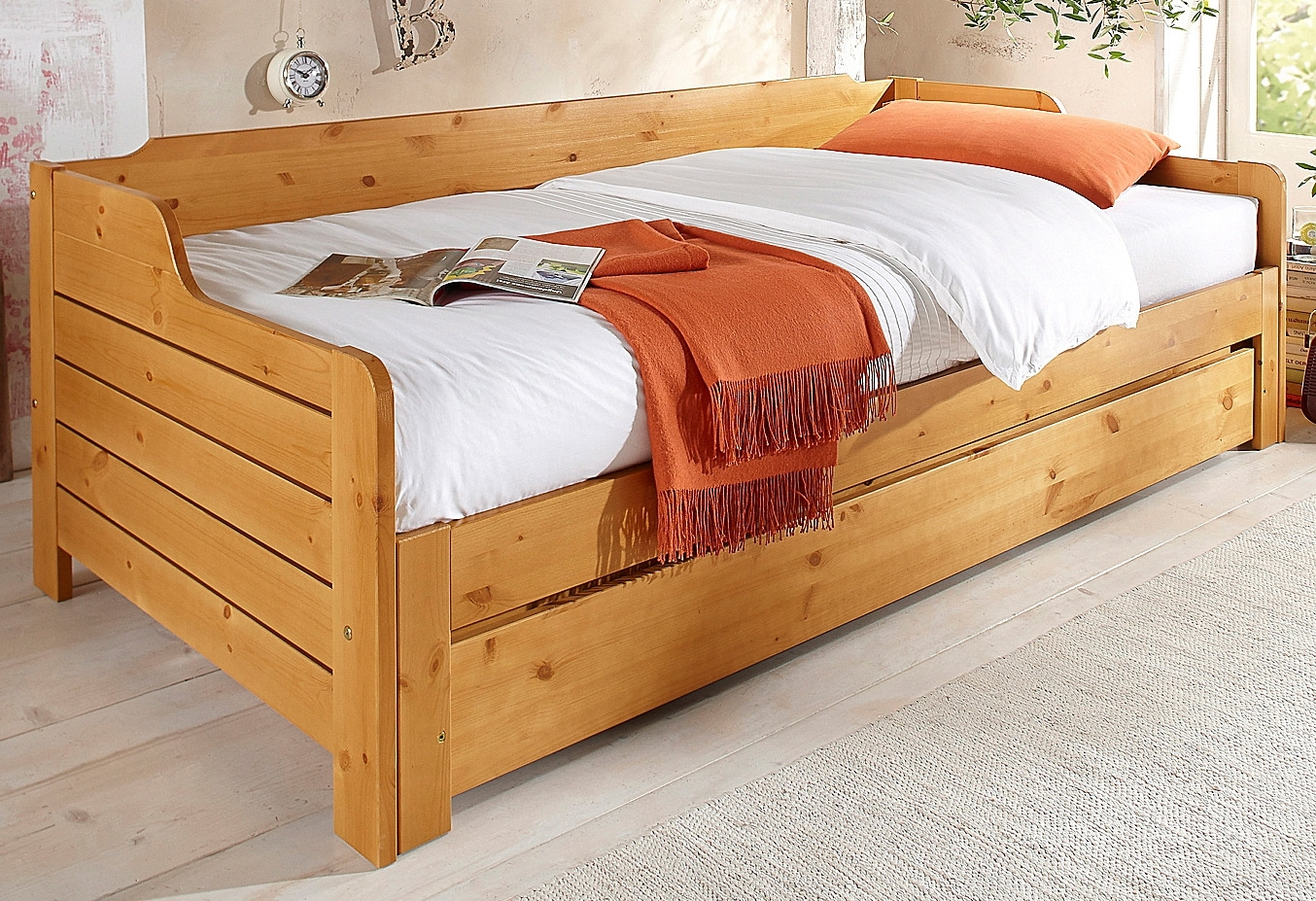 Home Affaire Bed in landhuisstijl bestellen: 14 dagen bedenktijd