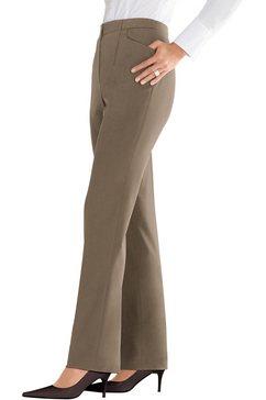 lady broek met onzichtbare, elastische inzet grijs
