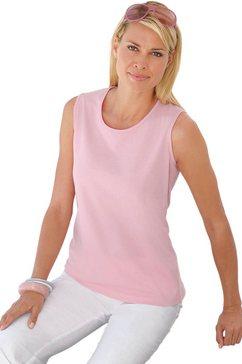 casual looks shirttop van puur katoen roze