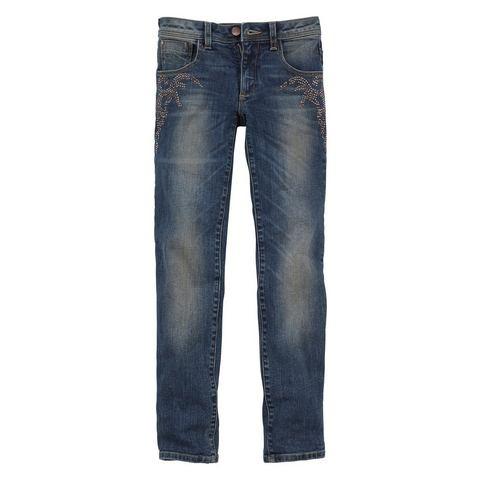 BUFFALO Jeans met studsapplicatie
