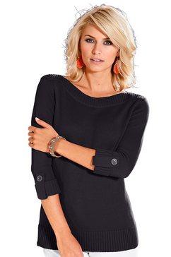 casual looks trui in trendy look zwart