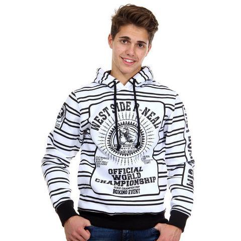 R-NEAL Sweatshirt met capuchon regular fit