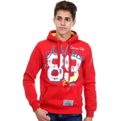 R-NEAL Sweatshirt met capuchon regular fit