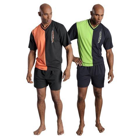 LE JOGGER Pyjama in kort model