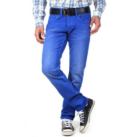 R-NEAL Gekleurde jeans regular fit