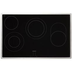 siemens keramische kookplaat van schott ceraniq300 et845hh17 zilver