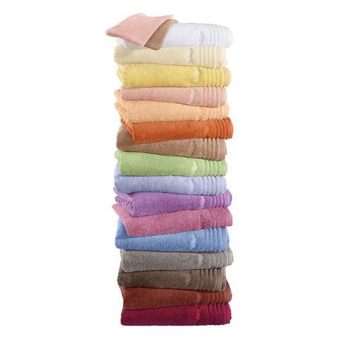 VOSSEN Badhanddoeken met smalle randen