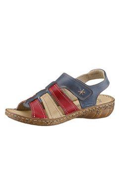 casual looks sandalen met aantrekkelijke siernaden blauw