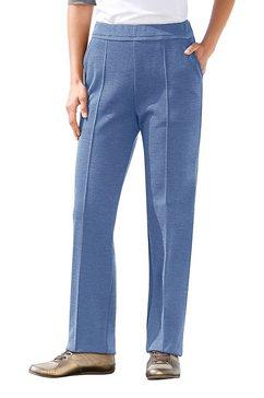 jersey-vrijetijdsbroek, schneider sportswear, n-maten blauw