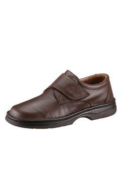 helix schoenen met klittenbandsluiting bruin