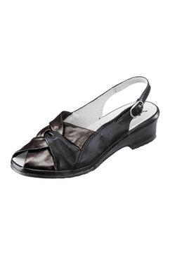 Sandaaltjes met parelmoerglans