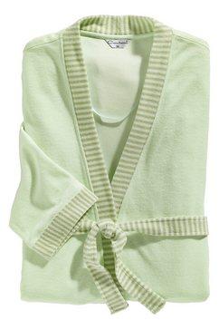 comtessa badmantel in kimonomodel groen