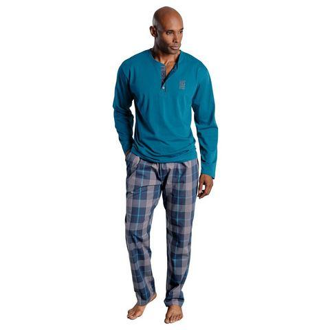 H.I.S Pyjama met logoprint