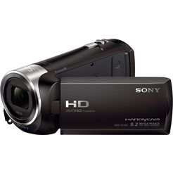 sony hdr-cx240e zeiss 1080p (full hd)-720p (hd-ready) camcorder zwart