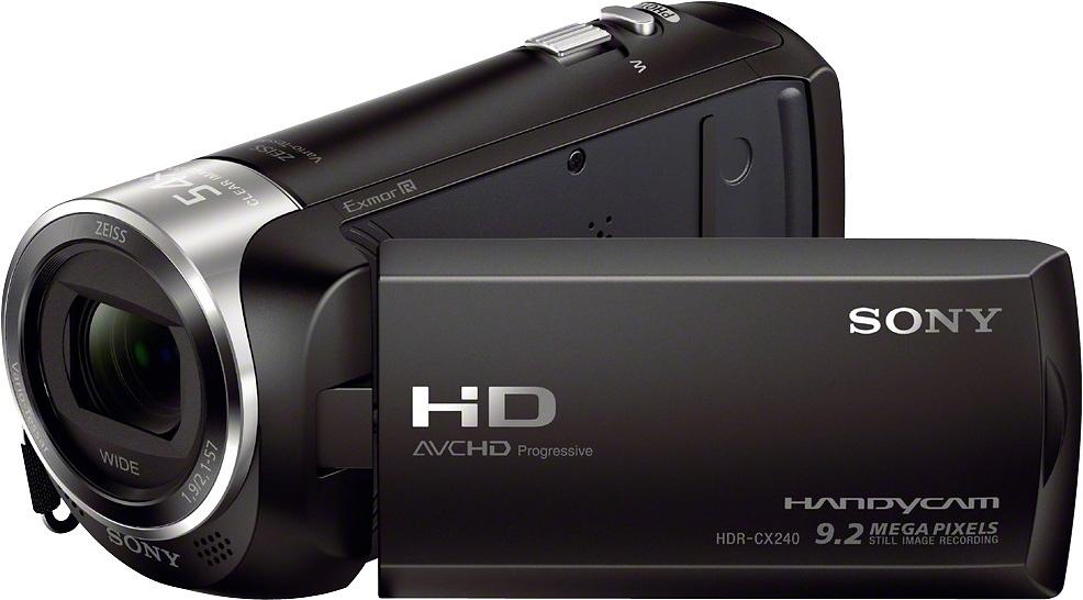 SONY HDR-CX240E ZEISS 1080p (Full HD)/720p (HD-ready) Camcorder nu online bestellen