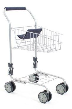chic 2000 boodschappenkar shopping cart navy-blue blauw