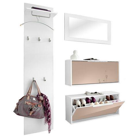 Complete garderobes Garderobeset Rena 3 4-delig 225482