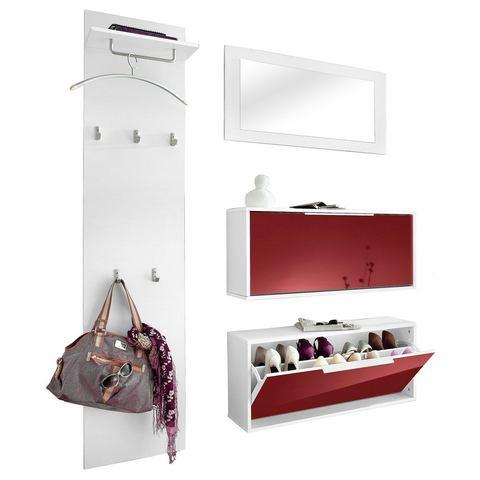 Complete garderobes Garderobeset Rena 3 4-delig 407308