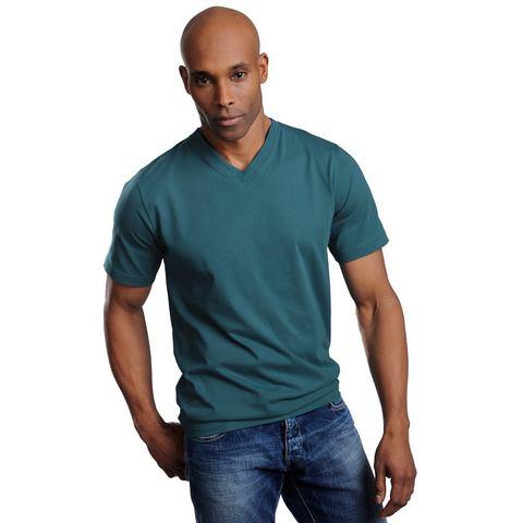 T-shirt met V-hals, set van 3