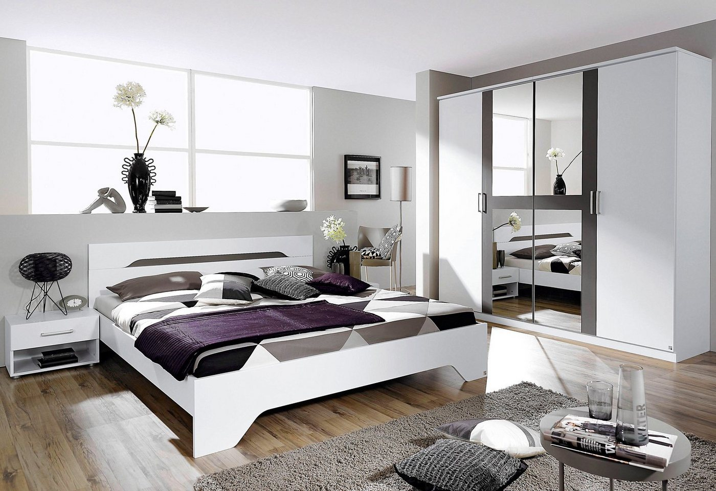 RAUCH Slaapkamermeubelen in 4-delige set