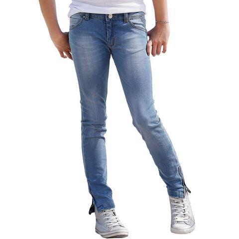 BUFFALO Jeans met ritssluitingen