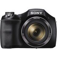 sony dsc-h300 superzoom camera, 20,1 megapixel, 35x opt. zoom, 7,6 cm (3 inch) display zwart