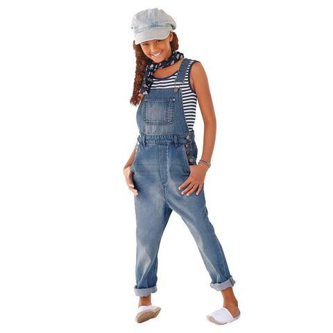 ARIZONA Tuinbroek in jeansstijl voor meisjes