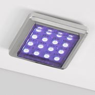 rgb-onderbouwverlichting, per stuk of set van 2 multicolor