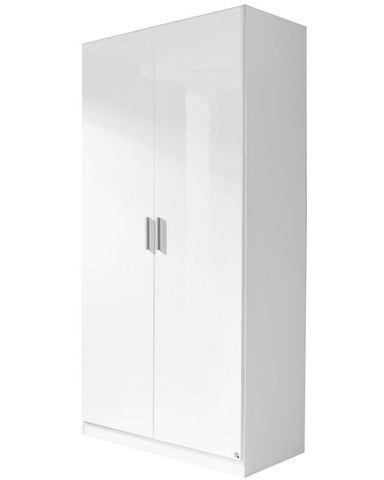 RAUCH Garderobekast in 3 breedten witte systeem kledingkast wit wit hoogglans 64