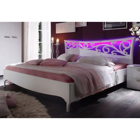 Bed in 2 breedten wit Lc 215758