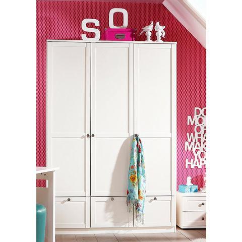 Garderobekast met decoratieve opleglijsten