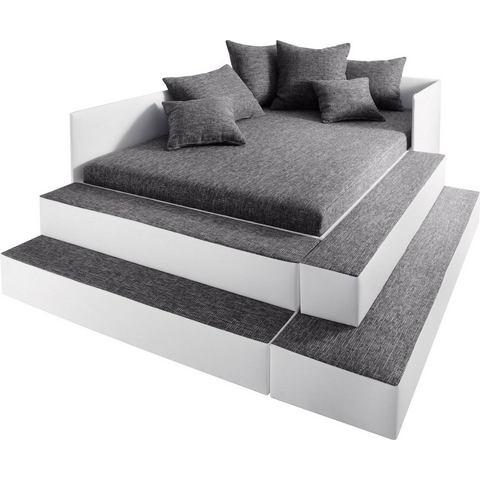 MAINTAL Bed in 3 breedten en 2 stofkwaliteiten grijs Maintal 438221
