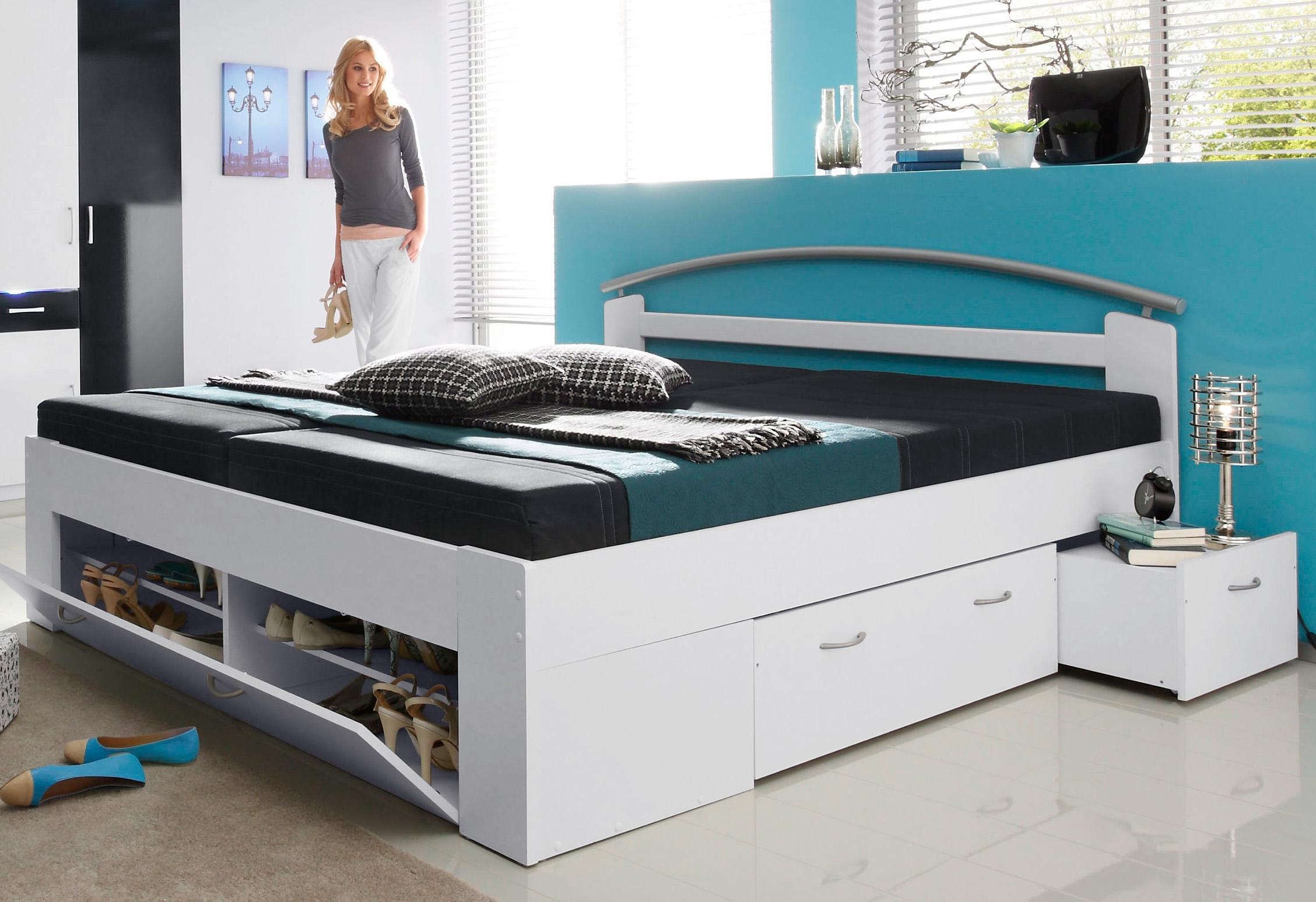 Breckle Bed met open kast nu online kopen bij OTTO