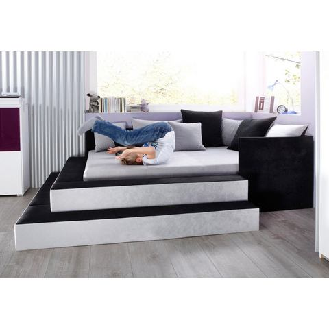 MAINTAL Bed in 3 breedten en 2 stofkwaliteiten grijs Maintal 645520