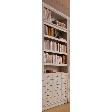 Kasten  vitrinekasten Boekenkast 'serie Soeren' met 3 of 4 planken 404881