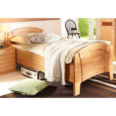 Bed honingkleur beige Home Affaire 344949