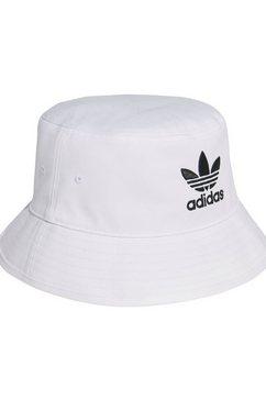 adidas originals vissershoed bucket hat ac wit