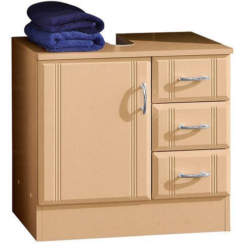 HELD MOBEL Wastafelonderkast Sidney met 3 laden beige badkamer onderkast 9