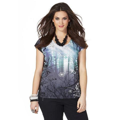 SHEEGO Shirt met print voor