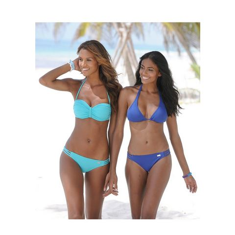 NU 21% KORTING: BUFFALO Triangelbikinitop Happy