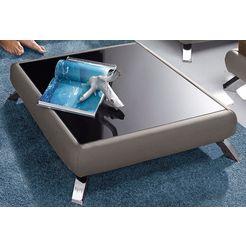 salontafel in lounge-design bruin