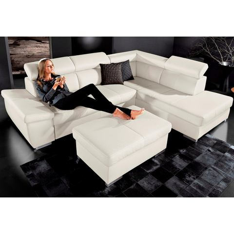 SIT & MORE Hoekbank met chaise longue links/rechts