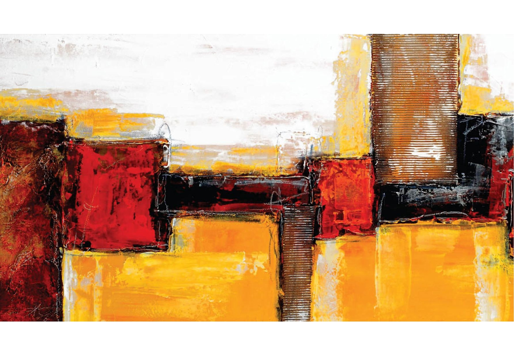 Home Affaire Artprint Abstract afm. 110x60 cm veilig op otto.nl kopen