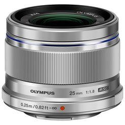 olympus objectief ez-m2518 zilver